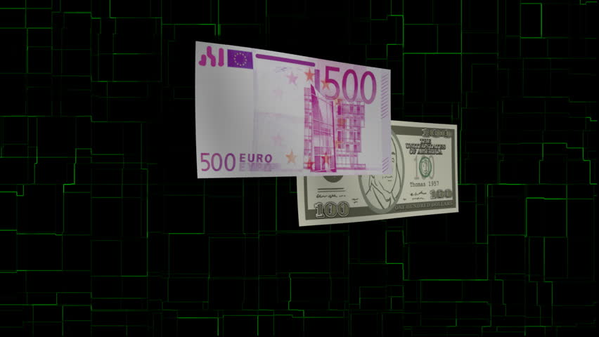 Paper money dissolves into digital format and forming a digital globe | Shutterstock HD Video #8667331