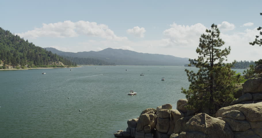 Time lapse of Big Bear Lake. Shot on Red Epic at 5k resolution.