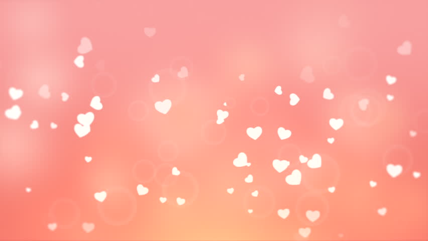 Valentine Day Heart Background 4 Stock Footage Video 20889538 ...