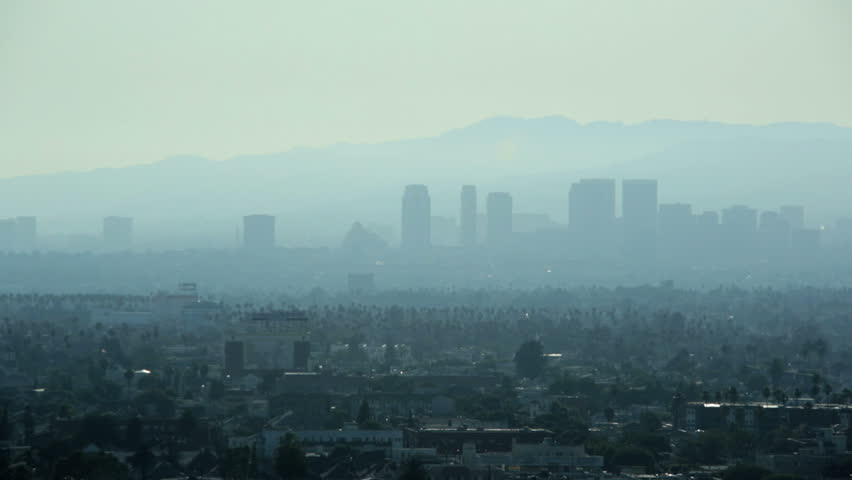 Los angeles downtown pollution metropolitan city haze skyscrapers los angeles downtown pollution metropolitan city haze skyscrapers urban scene suburban residential districts california usa sciox Gallery
