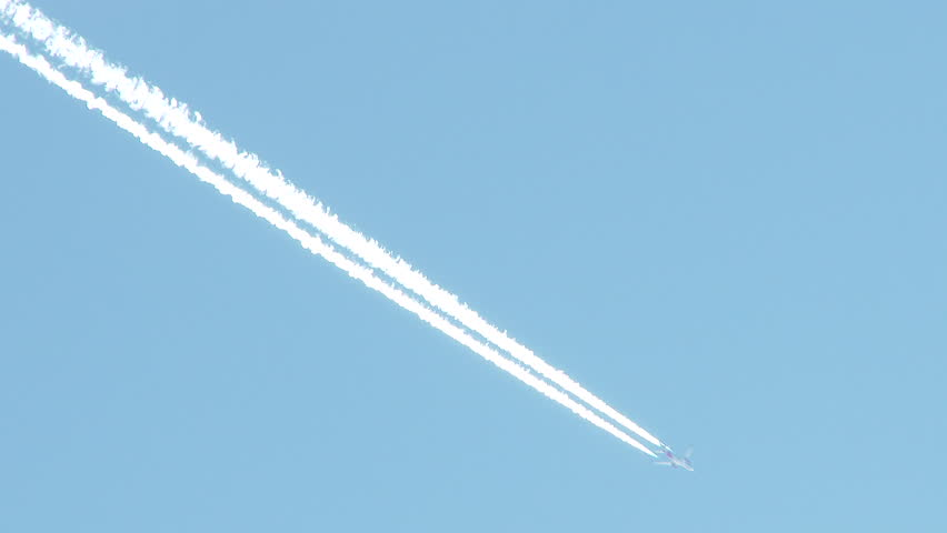 Vapor Trail Stock Footage Video | Shutterstock