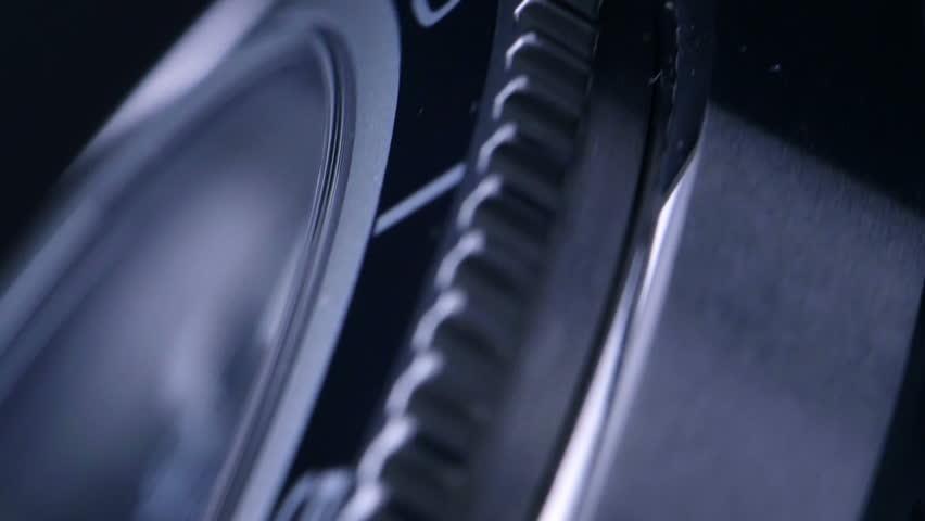 Beautiful swiss watch - slow motion   Shutterstock HD Video #8750071