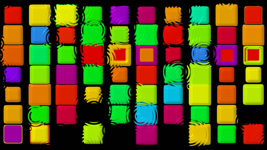 Color matrix rectangle and ripple,game,Tetris | Shutterstock HD Video #879481
