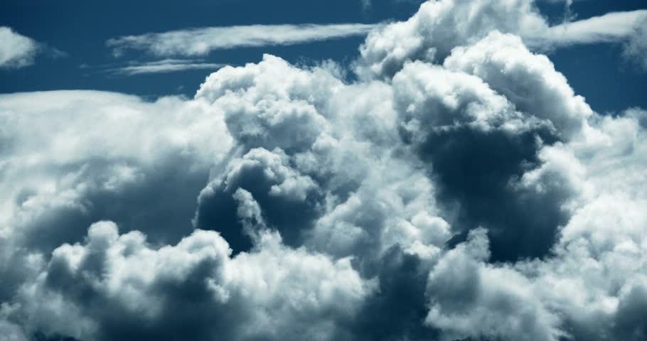 4k Panoramic of time lapse white puffy cloud mass in sky,heaven scene,mushroom-cloud,Tibet plateau climate. gh2_08744_4k