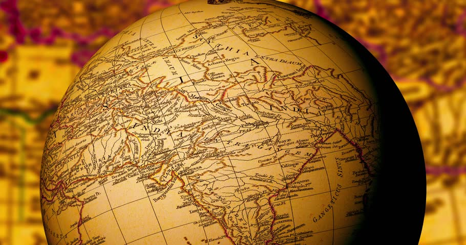 Stock video of spinning globe with ancient world map 8917891 stock video of spinning globe with ancient world map 8917891 shutterstock gumiabroncs