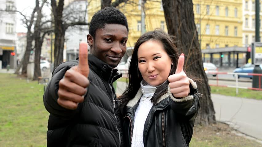 Asian men black women couples apologise