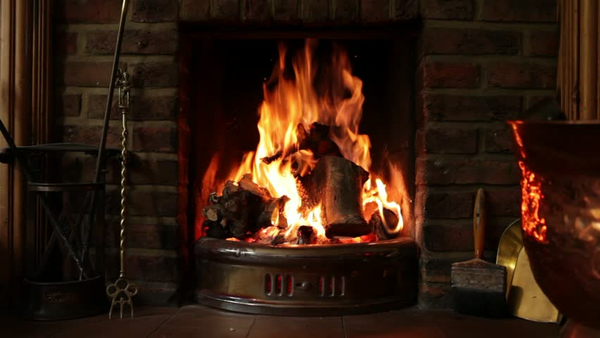 Image result for roaring fireplace
