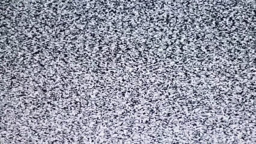 TV channel noise, noise, snows on the screen. Interference. Without a TV antenna | Shutterstock HD Video #9327749