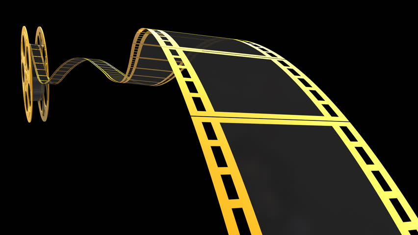 Film Reel Animation For Your Cinema Concept