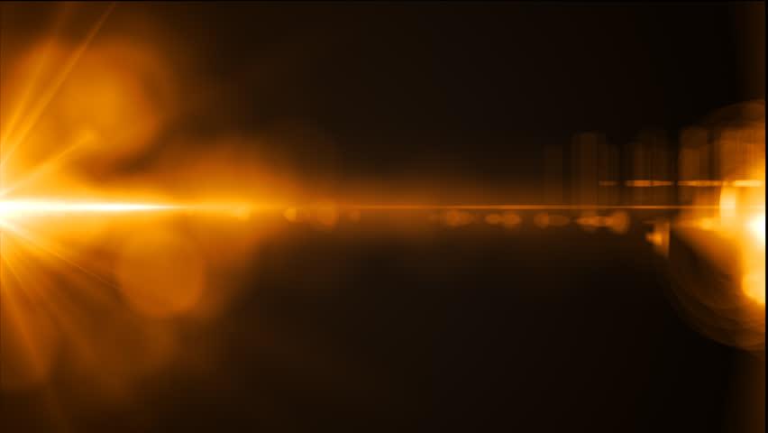 Lens flares background