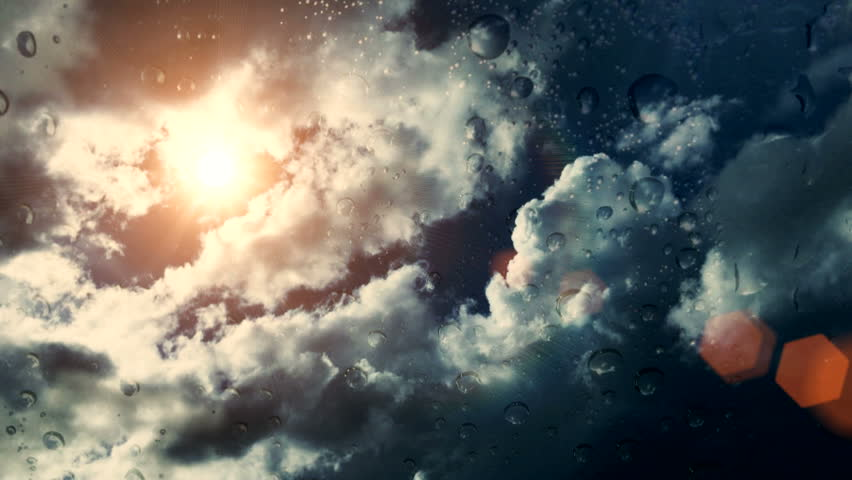 Dramatic Cloudscape Area with the Light sun ( Different Series ) | Shutterstock HD Video #9505211