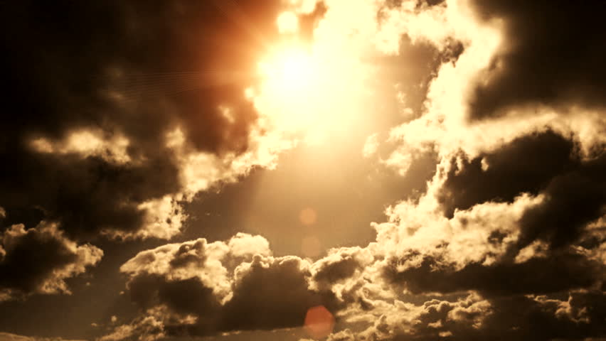 Dramatic Cloudscape Area with the Light sun ( Different Series ) | Shutterstock HD Video #9505271