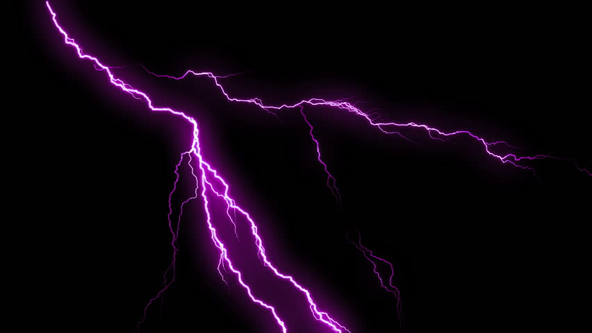 Purple Lightning Strikes Flashing In Stock Footage Video 100 Royalty Free 9589451 Shutterstock