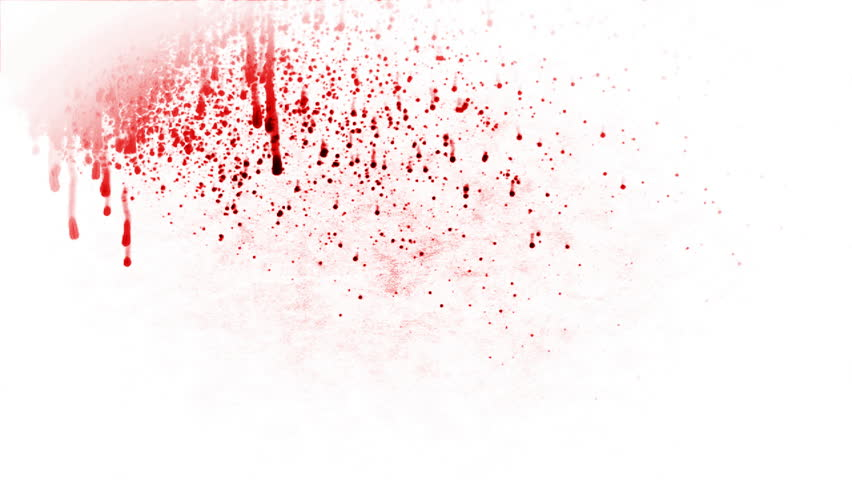 Blood Splash Against White Stock Footage Video (100% Royalty-free) 968101 |  Shutterstock
