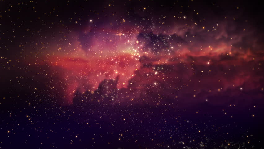 Space Nebulagalaxyuniverse Fly Through Seamless Looped