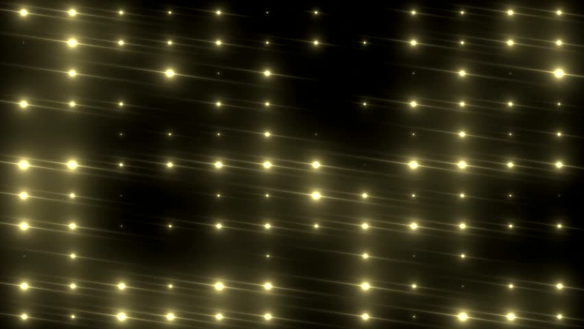 Bright beautiful gold flood lights disco background. Seamless loop. More videos in my portfolio. | Shutterstock HD Video #9707315