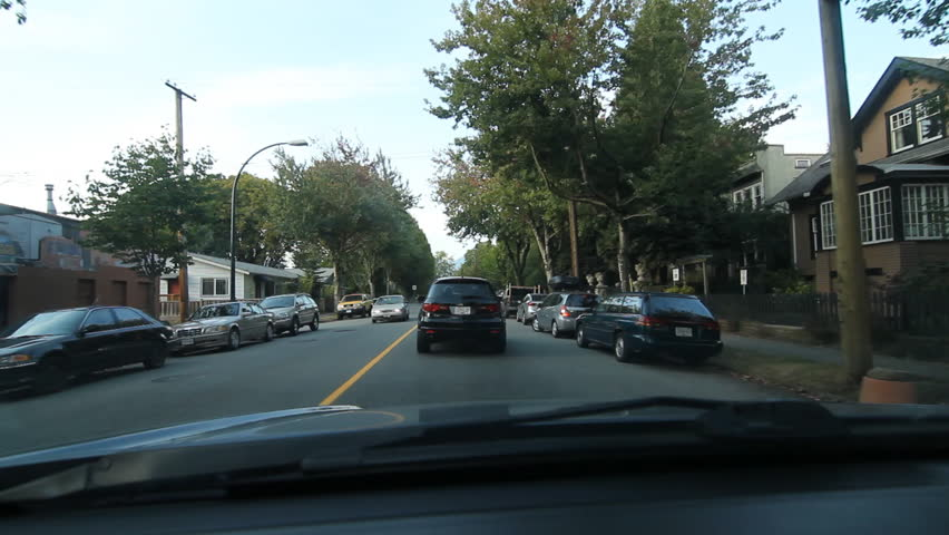 Vancouver Canada On Sept 16th Driving North Victoria Drive In 2017 The City Of Is A Coastal Seaport
