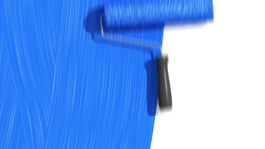 Spray Brush With Paint