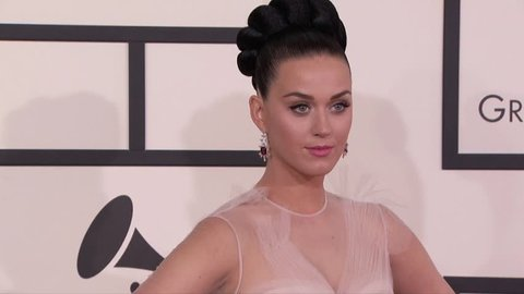 Los Angeles, CA - January 26,2014: Katy Perry at Grammy Awards 2014, Staples Center