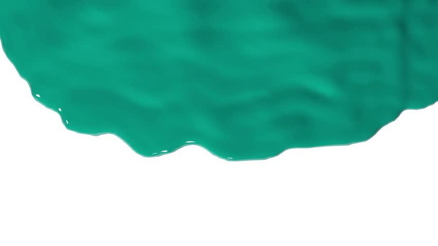Dripping down. paint run down. paint fills up screen.  fluid flows down . Pouring  screen. liquid fills screen | Shutterstock HD Video #9844871