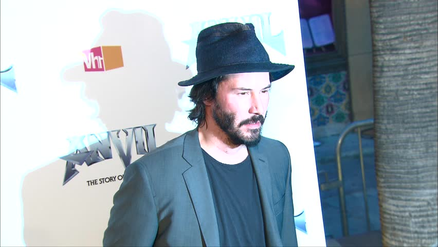 Hollywood, CA - April 07,2009: Keanu Reeves at Anvil Premiere, Egyptian Theatre