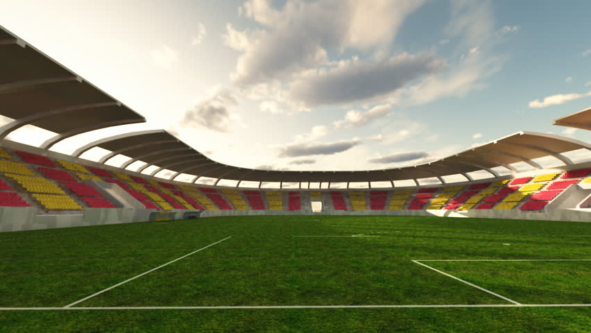 soccer stadium, time lapse