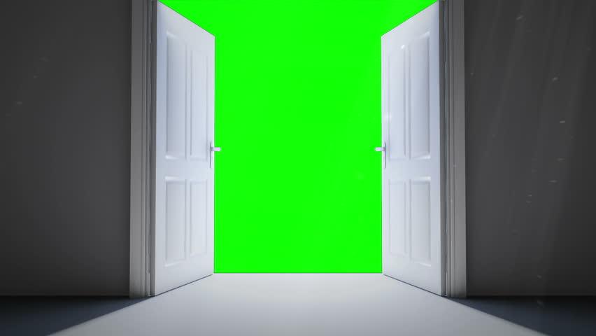 Digital Animation of Door Opening Stock Footage Video (100% Royalty-free)  9910361 | Shutterstock