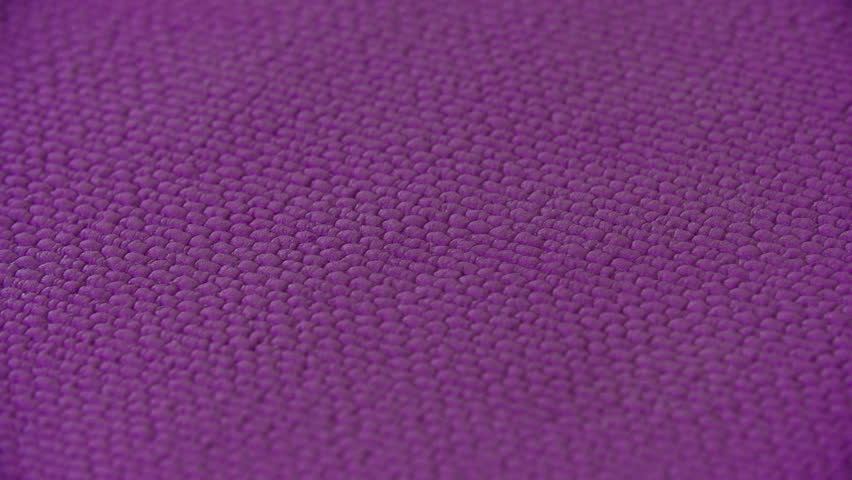 Stock Video Of Extreme Close Up Yoga Mat